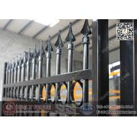 China Spear Top Metal Fencing   Steel Picket   China Metal Fence Supplier wholesale