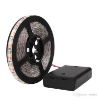 China RGB/Warm/Cool SMD 3528 LED Strip Light Waterproof String Lamp with Control Box 2m/1m/0.5m wholesale