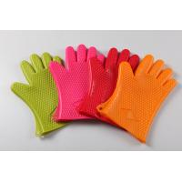 Quality five finger silicone oven mitts/ oven glove OEM offer sizes:27*17 material for sale