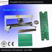 China PCB Separator For Mobile Electronics Industry With Japanese Liner And Round Blades on sale