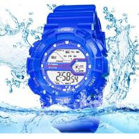 Quality SYNOKE Children Multifunction Chronograph Alarm Shock Resist 3 ATM Candy Color for sale
