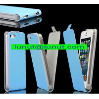 China Leather iphone case,luxury leather iphone5 case with high quality and competitive price on sale