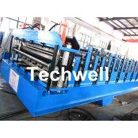 China Double Layer Roll Forming Machine For Roofing Sheet Forming Machine With Hydraulic Cutting wholesale