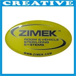 China 3D Silver Chrome Epoxy Resin Sticker wholesale