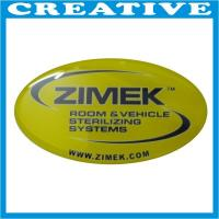 China 3D Silver Chrome Epoxy Resin Sticker wholesale