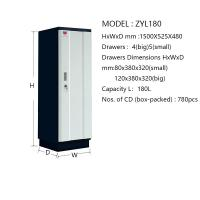 Standard Size Fire Retardant Filing Cabinets Humid Proof For Mobile Disk