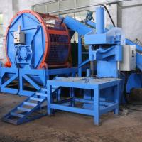 China Single Shaft Tyre Rubber Recycling Equipment Three Phase 380V 50Hz on sale