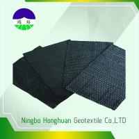 Buy cheap Recycled / Virgin Geotextile Woven Fabric Pp 160kn Split Film For Railway Project from wholesalers