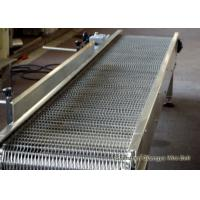 China Stainless Steel 304 Flexible Conveyor Belt Mesh For Washing Good Transparency wholesale