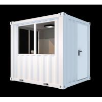 China Corten Steel Mini Cube Shipping Container 8ft White Easy Operation Industrial wholesale