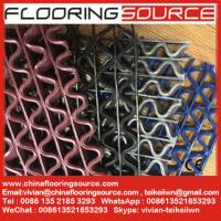 China S Grip PVC Runner with S and Wave holes drain excess liquids away prevent slip and skid wholesale