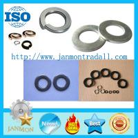 Buy cheap Black/Zinc Plated Spring Washer,Black flat washer,Zinc plated flat washer,Spring steel washer,Steel flat washer from wholesalers