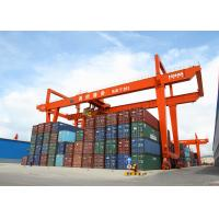 China 32 Ton Rmg Portal Gantry Crane Rail Mounted Container Double Girder Gantry Crane wholesale