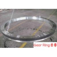 China Stainless Steel Rolled Ring Forging Wind Energy Gear Ring Flange 20CrMn wholesale