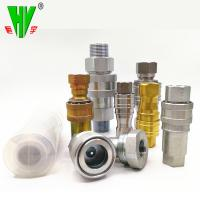 China Hydraulic union fitting quick release coupling high pressure quick couplers wholesale
