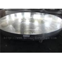 China OD1935mm Carbon Steel ASTM A105 Forged Disc Normalized Heat Treatment wholesale
