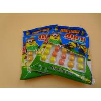 China Mini Round Colorful Mixed Chewing Gum Candy For Kids 12g Bag Packed wholesale