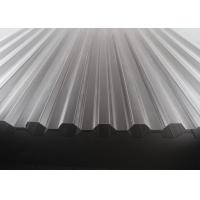China High Transparency Corrugated Polycarbonate Sheets For Skylights 10 Years Warranty wholesale