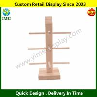 China Wood Sunglasses Rack Holder Glasses Display Stand 3 Layers from SHINU YM6-092 wholesale