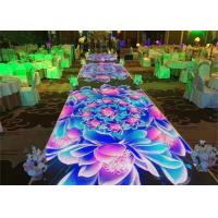 China Interactive Dance Floor LED Display Screen P4.81 900-1200 Nits For Wedding Stage wholesale