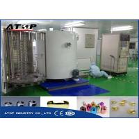 China Electric Control Vacuum Metallizing Machine For Glass / Cosmetic Bottle Caps on sale