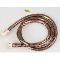 Wholesale Bronze plated dia 14mm stainless steel sanitary shower hose extension from china suppliers
