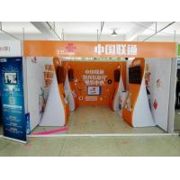 China Formulate Stretch Hop Up Fabric Display Stand For Exhibition wholesale