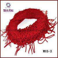 China New Style Mohair Knitted Mesh Neckwear (W15-3) wholesale