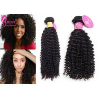 China Brazilian Mink Hair Extensions , Natural 4A 4B 4C Raw Cuticle Human Hair on sale