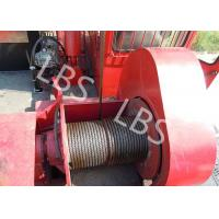 China Oil Field Downhole Operation Offshore Winch Workover Rig Winch Steel Wire Rope wholesale