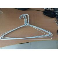 China 16 / 18 Inch Powder Coated Hanger , Clothes Wire Hanger For Laundry wholesale
