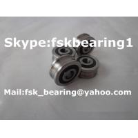 China LFR 50/8 KDD U Groove Track Roller Bearings Guide Wheels Bearings wholesale