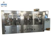 China 10 Capping Head Bottled Water Production Machine / Monoblock Filling And Capping Machine wholesale