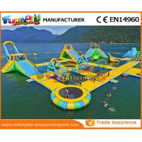 Buy cheap 0.9 MM PVC Tarpaulin Inflatable Water Parks For Commercial Aqua Floating Toys from wholesalers