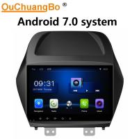 Buy cheap Ouchuangbo car radio stereo android 7.0 system for Hyundai IX35 with gps navi multimedia USB WIFI SWC 1080 video from wholesalers