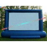 China Professional Projection Inflatable Movie Home Theater Screens , Backyard Cinema wholesale
