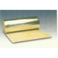 China Thermal Rockwool Insulation Blanket Flexible Faced With Aluminum Foil wholesale