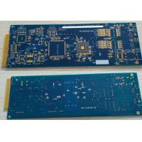 Buy cheap 6 layers Rigid FR4 PCB with ENIG surface and hard plating gold finger 10u