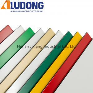China Antibacterial 4mm Advertising PVDF Coating ACP Wall Panels wholesale