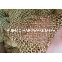 Buy cheap Light Diffusing Chainmail Metal Ring Mesh For Decoraive Interior Partition from wholesalers