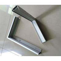 China T5 / T6 6000 Series Anodized Aluminum Solar Panel Frame ISO9001 Certification wholesale