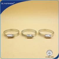 China 9mm 12mm Stainless Steel Hose Clamps German Type GB / DIN Standard wholesale
