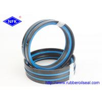 China Dustproof Lip Hydraulic Jack Piston Seal Polyester Elastomer Back - Up Ring 40Mpa Pressure on sale