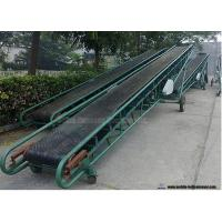 China Mobile Portable Grain Loading Container Belt Conveyor For Grain Carbon Steel Frame on sale