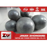China Durable Cast Iron Forged Steel Grinding Media Balls In Mining Plant wholesale