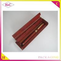 China Customized luxury wood pen packaging gift box wholesale