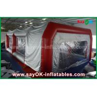 China Waterproof Inflatable Air Tent PVC Spray Booth For Car Paint Spraying on sale