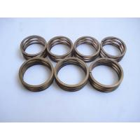 China Multilayered wave spring with Plain Ends uk Flat wire compression spring processing stainless steel wholesale