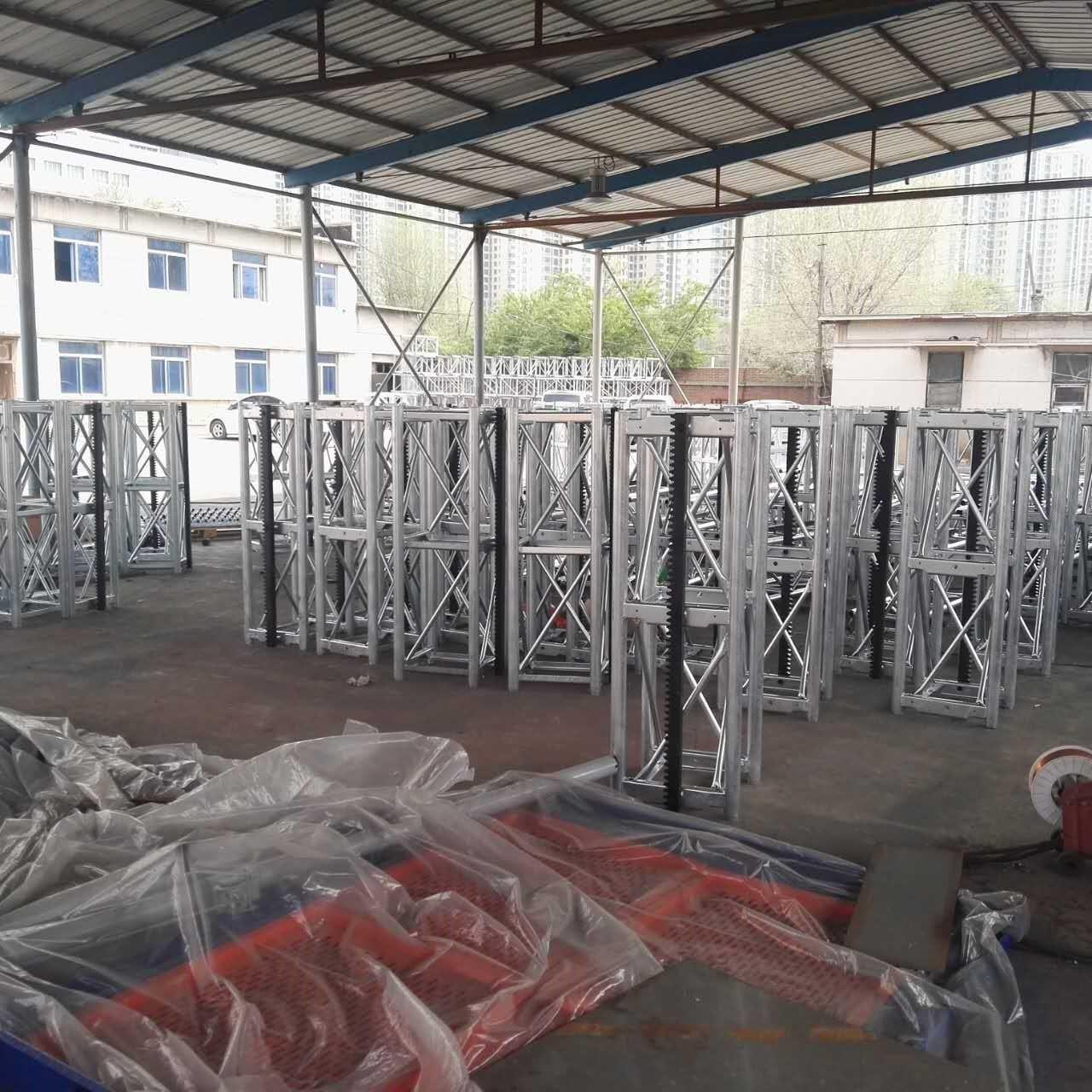 China CE Customized Color 450 Mast Industrial Lift With Motor Power 2x15kw, 400kg Lifting Device wholesale