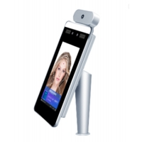 China Non Contact MQTT Time Attendance Face Recognition Thermometers wholesale